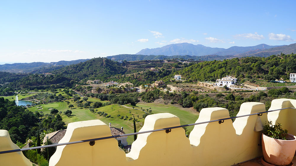 Marbella Club Golf Resort from the property